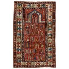 Antique Caucasian Shirvan Prayer Rug