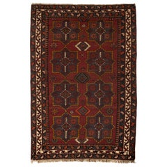Antique Caucasian Shirvan Rug, circa 1900