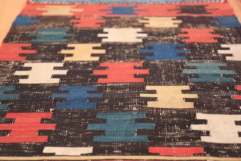 Tribal Antique Caucasian Shirvan Rug For Sale