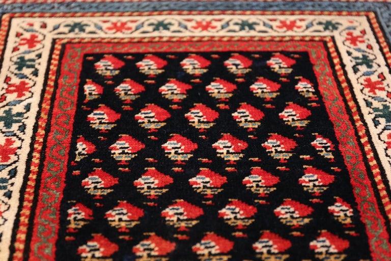 19th Century Antique Caucasian Shirvan Rug For Sale