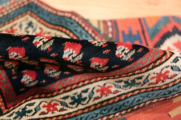 Wool Antique Caucasian Shirvan Rug For Sale