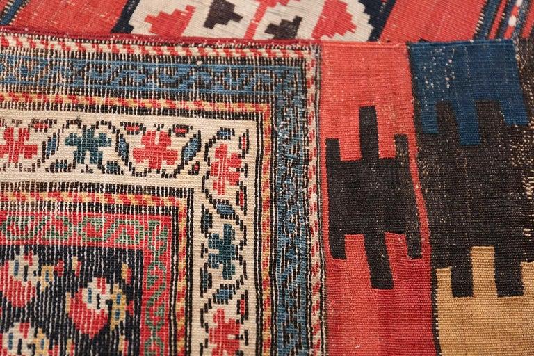 Antique Caucasian Shirvan Rug For Sale 1