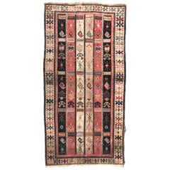 Antique Caucasian Shirwan Runner