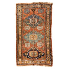 Antique Caucasian Soumak Carpet, circa 1880-1900