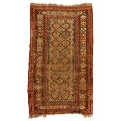 Antique Caucasian Soumak Carpet, circa 1920s