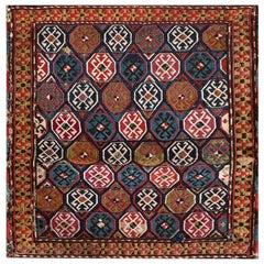 Antique Caucasian, Soumak Rug