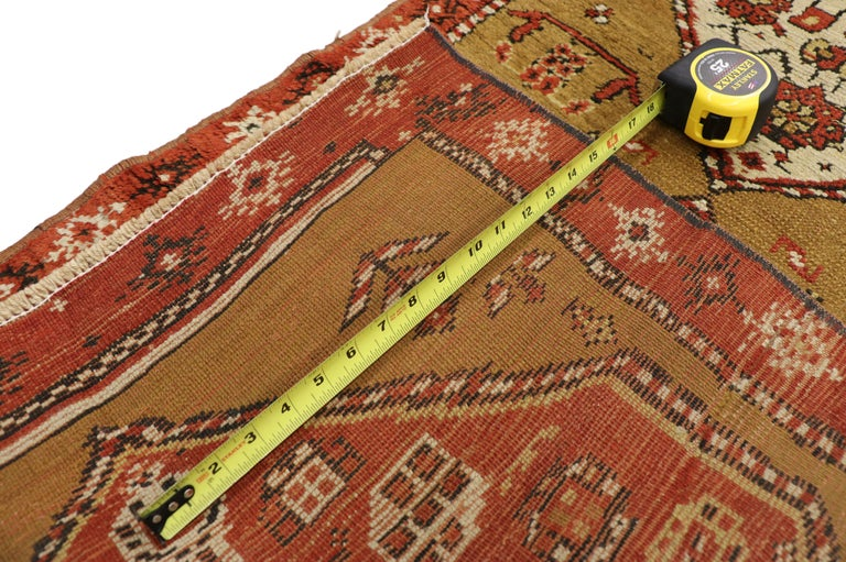 Antique Caucasian Tribal Runner, Hallway Runner In Good Condition For Sale In Dallas, TX