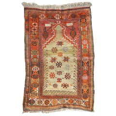 Antique Caucasien Karabagh Prayer Rug