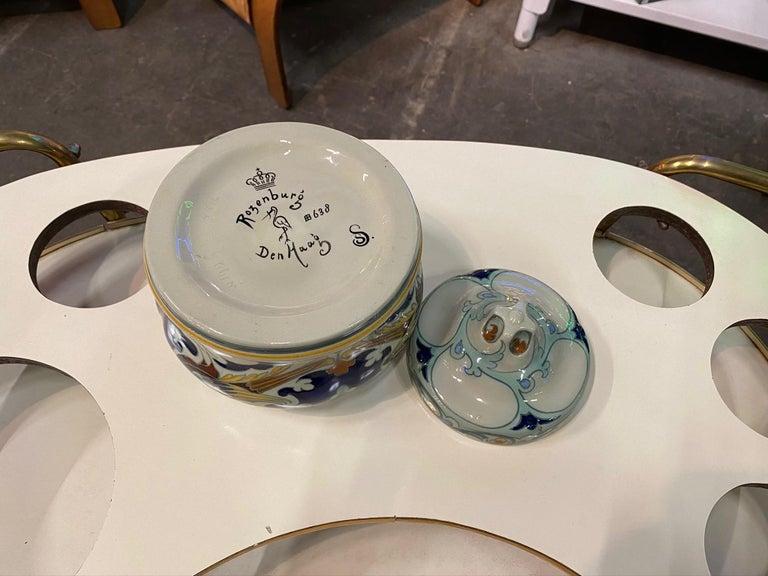 Antique Ceramic Lidded Box by Samuel Schellink for Rozenburg For Sale 12
