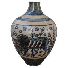 Antique Ceramic Vase by Primavera France 'Early 20th Century'