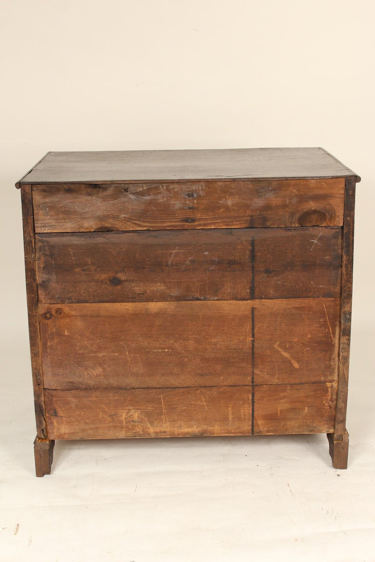 Antique Charles II Style Oak Chest of Drawers For Sale 5