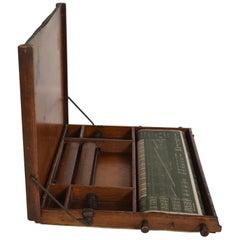 Antique Chautauqua Home School Learning Portable Desk Lewis E. Myers USA 1913