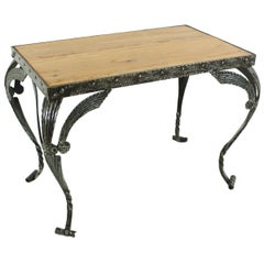 Antique Cherry Side Table, circa 1930