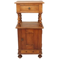 Antique Cherry Tree Nightstand, circa 1890