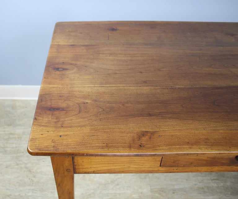 19th Century Antique Cherry Writing Table For Sale
