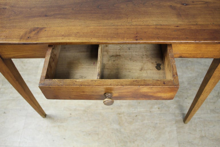 Antique Cherry Writing Table For Sale 1