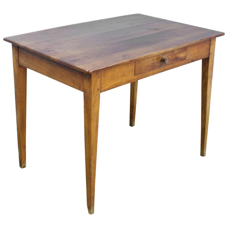 Antique Cherry Writing Table For Sale