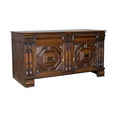 Antique Chest, French Coffer, Oak, Early 19th Century, circa 1800