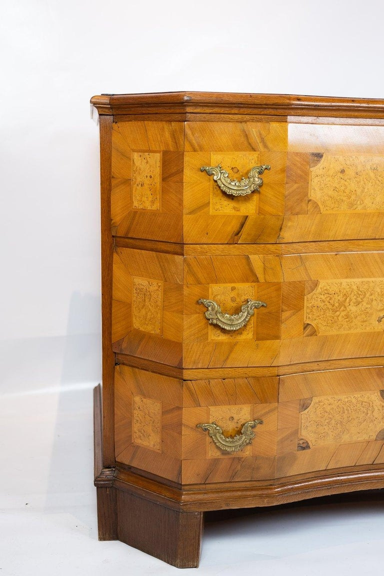 Other Antique Chest of Drawers in Walnut and Fruit Wood, 1780s For Sale