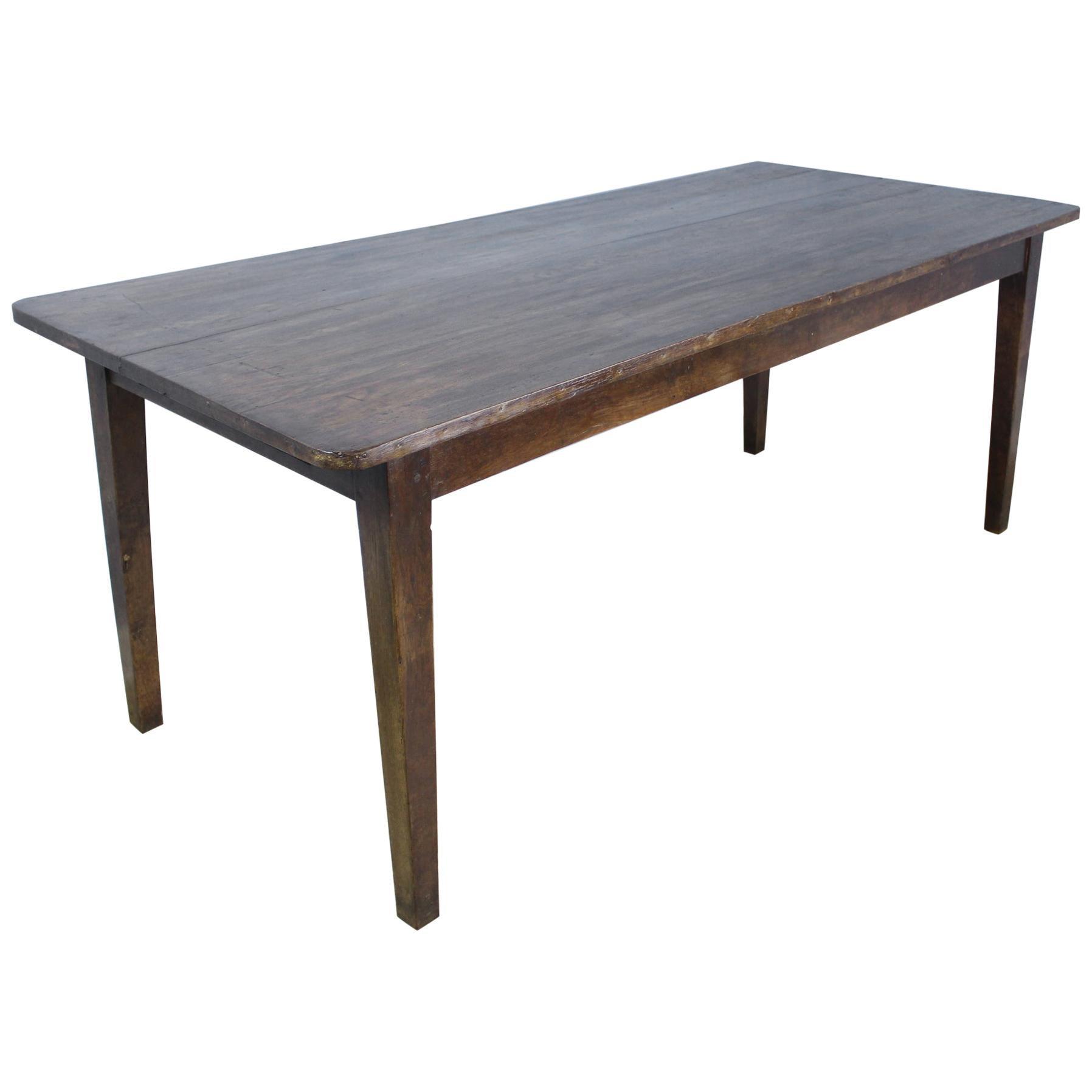 Antique Chestnut Farm Table