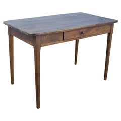 Antique Chestnut Writing Table or Desk