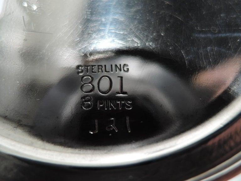 Antique Chicago Craftsman Hand-Hammered Cocktail Shaker by Lebolt For Sale 2