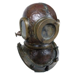 Antique Chilean Diving Helmet
