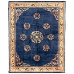 Antique Chinese Area Rug China Design