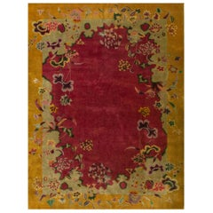 Antique Chinese, Art Deco Rug
