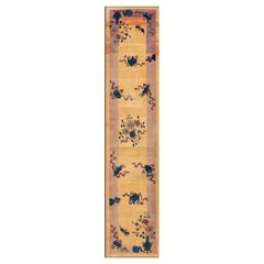 Antique Chinese Art Deco Runner