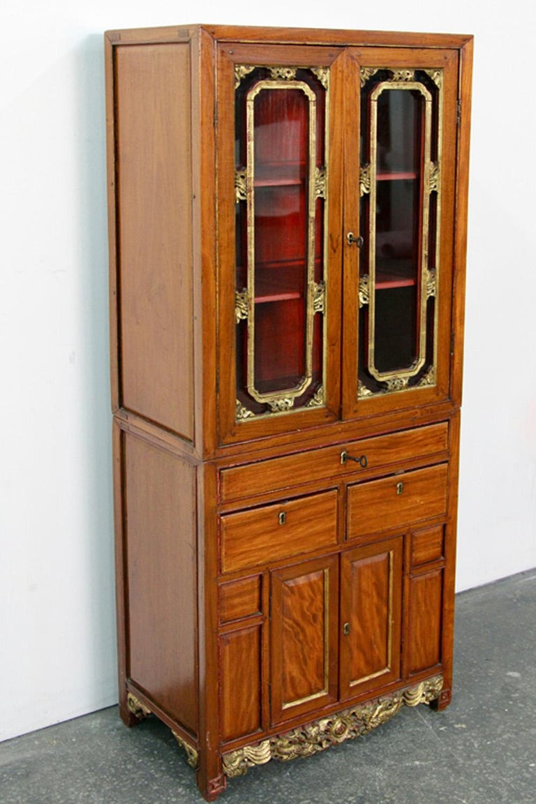 Antique Chinese Cabinet In Good Condition In Norwalk, CT