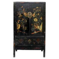 Antique Chinese Chinoiserie Style Cabinet 1