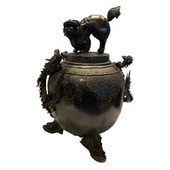 Antique Chinese Ex Large Bronze Incense Burner
