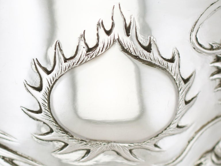 Antique Chinese Export Silver Goblet, circa 1900 For Sale 5