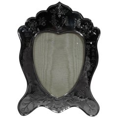 Antique Chinese Export Silver Picture Frame