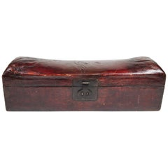 Antique Chinese Headrest 'Pillow' Box