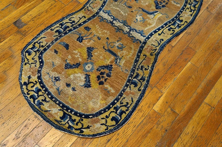 Hand-Knotted Antique Chinese, Horse Cover For Sale