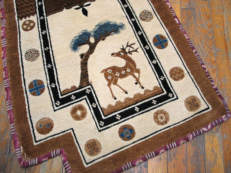 Early 20th Century Antique Chinese Horse Cover For Sale