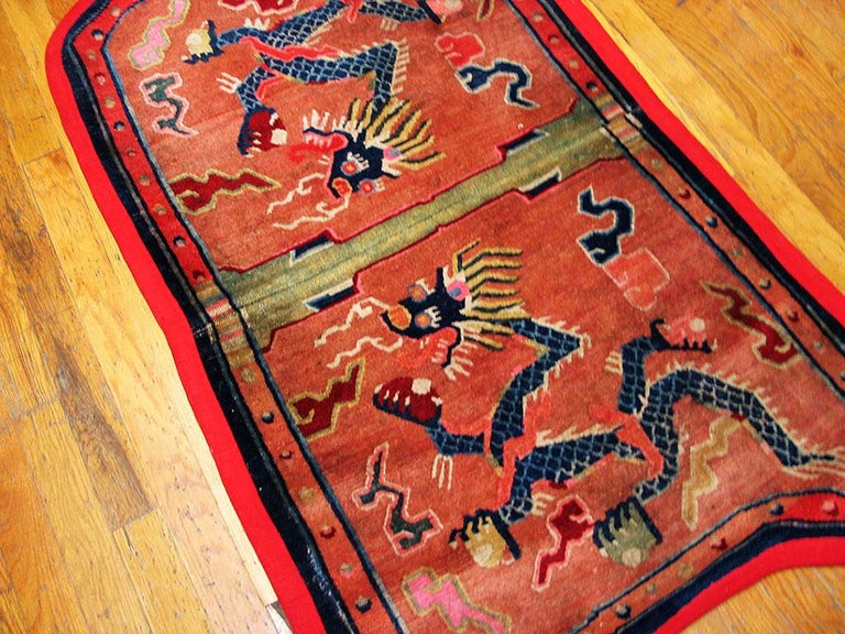 Antique Chinese Horse Cover In Good Condition For Sale In New York, NY