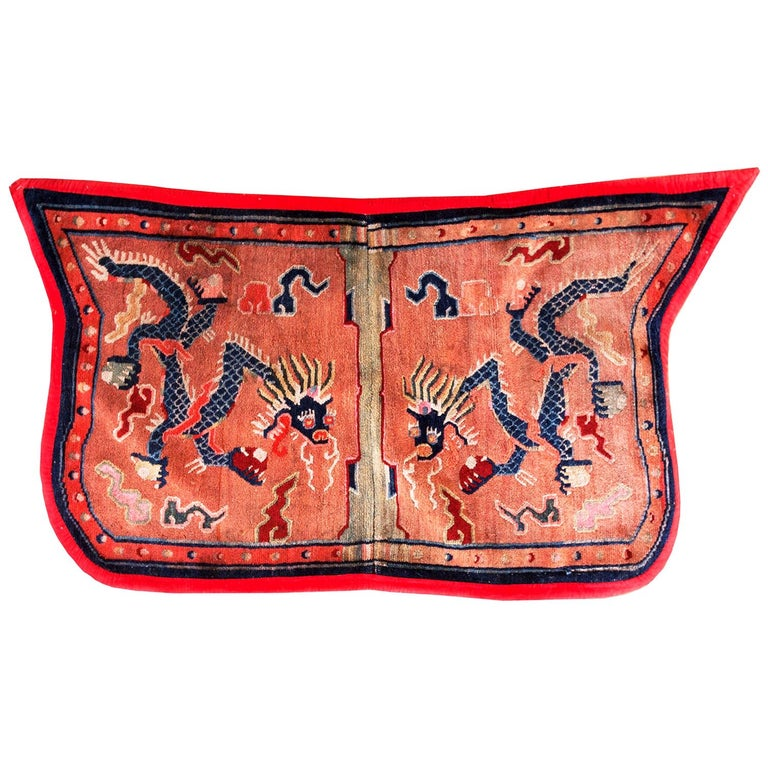 Antique Chinese Horse Cover For Sale
