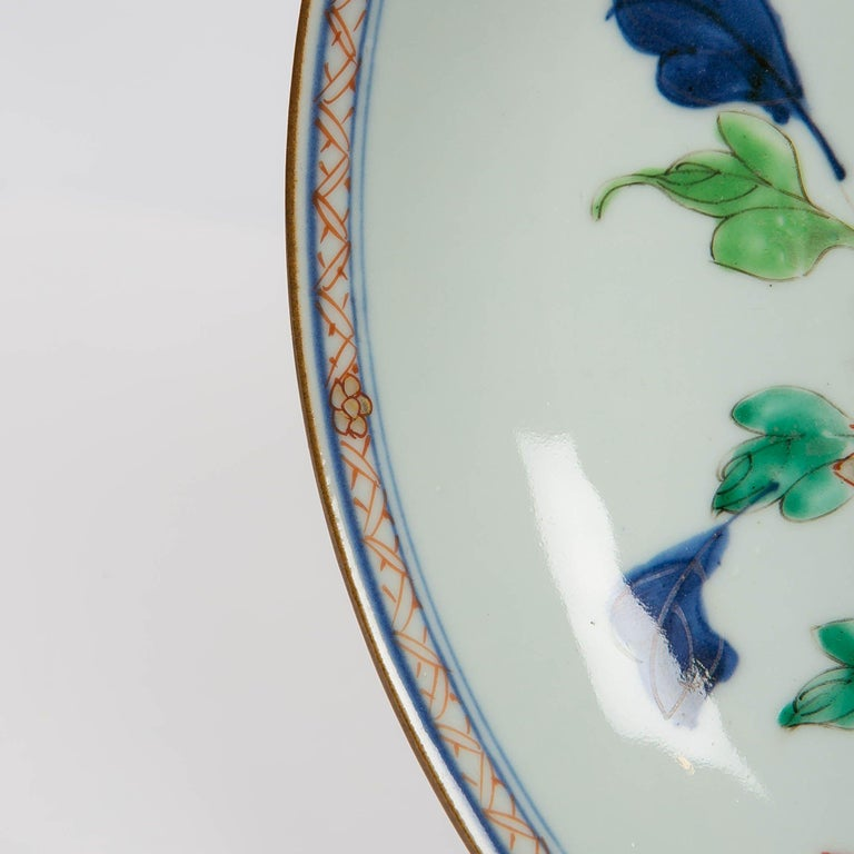 Antique Chinese Imari Pattern Dish In Excellent Condition For Sale In New York, NY