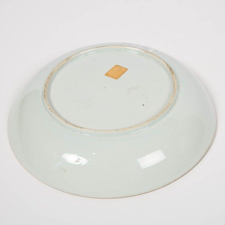 Porcelain Antique Chinese Imari Pattern Dish For Sale