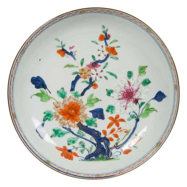 Antique Chinese Imari Pattern Dish For Sale
