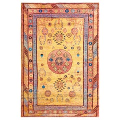 Antique Chinese Khotan Rug