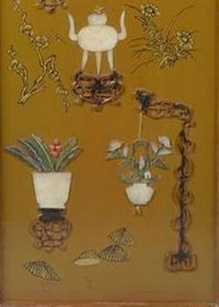 Chinese Export Antique Chinese Lacquer Panel, Coffee Table For Sale