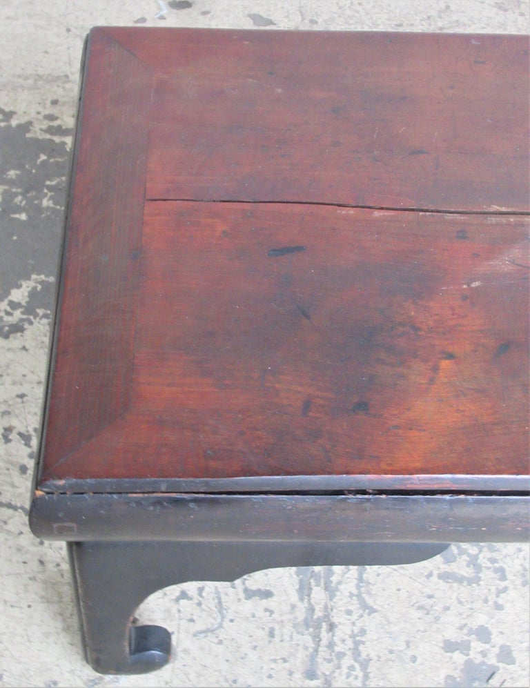 19th Century Antique Chinese Low Table For Sale