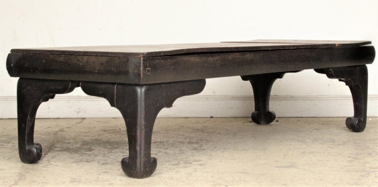 Wood Antique Chinese Low Table For Sale