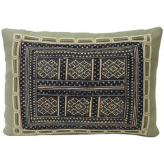 Antique Chinese Miao Wedding Blanket Textile Decorative Petite Decorative Pillow