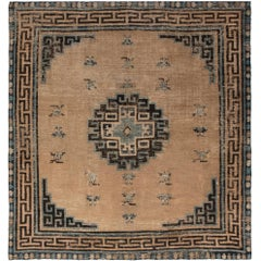 Antique Chinese Mongolian Rug