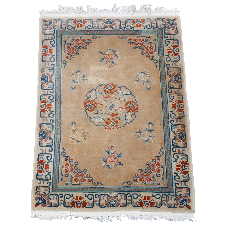 Antique Chinese Nichols Oriental Wool Rug, 20th Century
